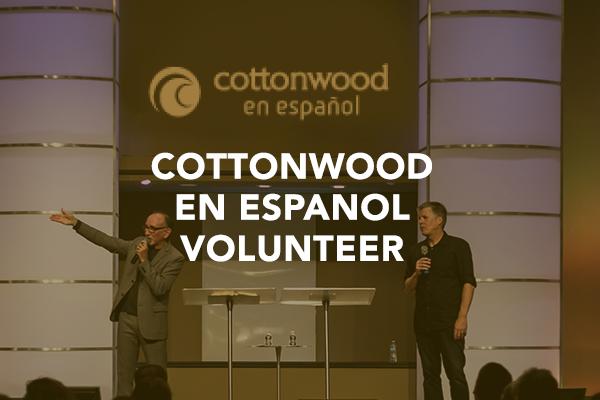 Cottonwood En Espanol Volunteer