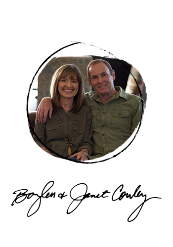 Pastor Bayless and Janet Conley