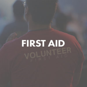 First Aid volunteer image
