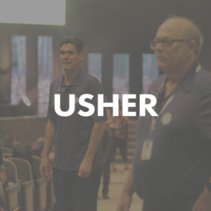 Usher volunteer image