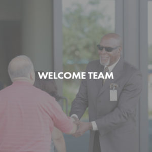 Welcome Team volunteer image