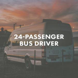 24 Passenger Bus Driver