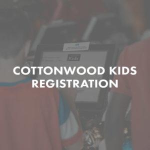 Cottonwood Kids Registration