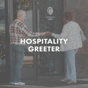 Hospitality Greeter