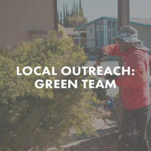 Local Outreach Green Team