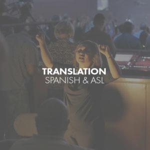 Translation Spanish and ASL